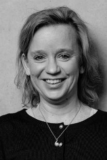 black and white headshot of Audio Network CFO Kim Clarke